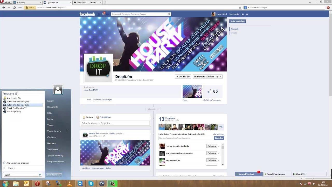 facebook alle freunde auf fanpage einladen 2014 - youtube, Einladung