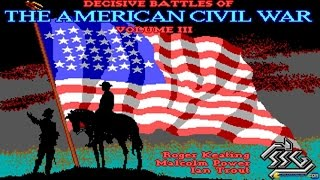 Decisive Battles of American Civil War Vol. 2 gameplay (PC Game, 1988)