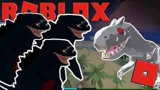 Roblox Dinosaur Hunter GRINDING PER DIO-ILLA! IL TRIO di GOD-ILLA!