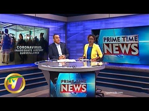 TVJ News: Health Minister Responds To Coronavirus Alert - January 27 2020