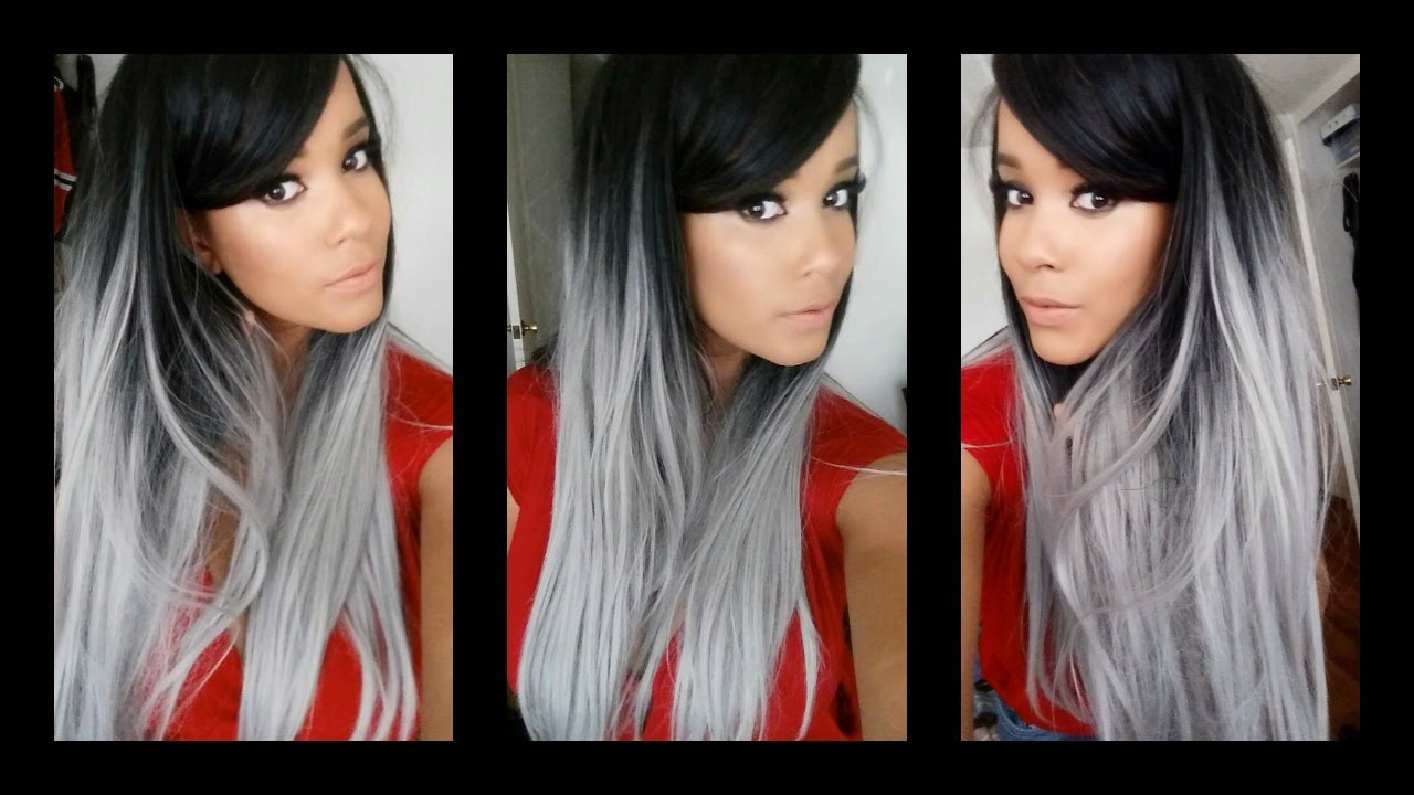 black and grey hair styles grey hair protective style by uniwigs 7687 | maxresdefault