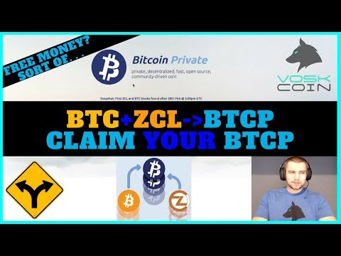 Bitcoin Private BTCP Hard Fork Guide - Claim Your FREE BTCP W/ Zclassic And Bitcoin