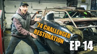 74 Dodge Challenger Restoration #14 - All for a QUARTER!