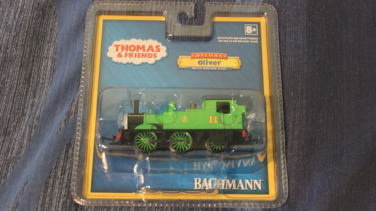 HD Thomas the Tank Engine - Bachmann Oliver Review - YouTube
