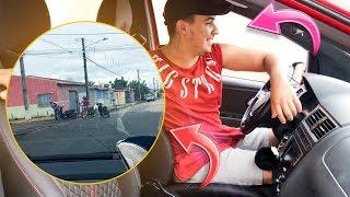 ANDEI NO CARRO NOVO PELA PRIMEIRA VEZ + A MULHER BATEU NA MOTO ( NÃO É CLICK BAIT ) !!!