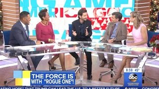 Diego Luna Chats  Rogue One - GMA