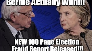 New PROOF Bernie Sanders Actually WON The Primary (Probably)