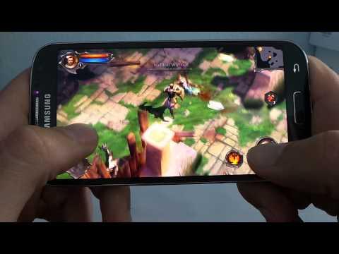 Samsung Galaxy S4 Dungeon Hunter 4 Gameplay Video | Tech2.hu