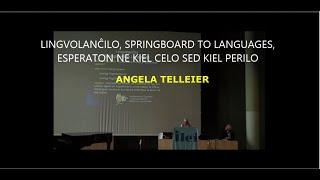 LINGVOLANĈILO, SPRINGBOARD TO LANGUAGES, ESPERANTON NE KIEL CELO SED KIEL PERILO