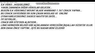 Mount & Blade:Warband - 1.167 Crack (TÜRKÇE)
