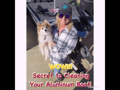 WOW! Secret to Cleaning Your Aluminum Boat!