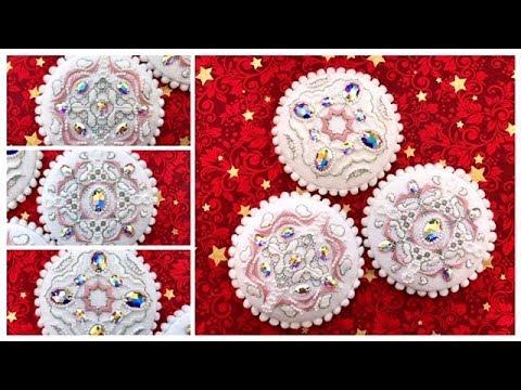 184 Снежно-королевское '18 Новогодние игрушки