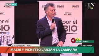 Discurso de Mauricio Macri y Miguel Ángel Pichetto en la cumbre de Juntos por el Cambio