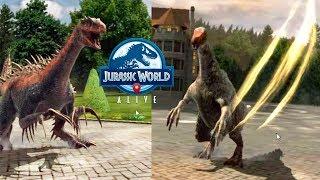 Контратака Арена и Дружеский бой Jurassic World Alive