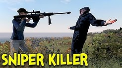 SNIPER KILLER! - Arma 2: DayZ Mod - Ep.1