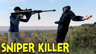 One of FRANKIEonPC's most viewed videos: SNIPER KILLER! - Arma 2: DayZ Mod - Ep.1