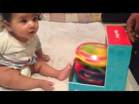Funny Babies Scared of Toys || Baby's reaction to musical toy HD