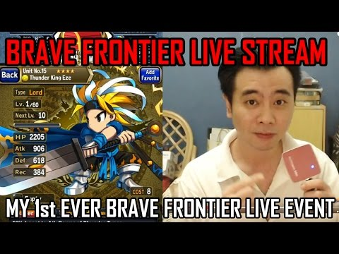 Milko Gaming - Testing out another Live Stream with Brave Frontier