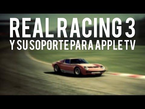 Real Racing 3 para Apple TV, llega la pantalla dividida a uno de los mejores juegos de iOS