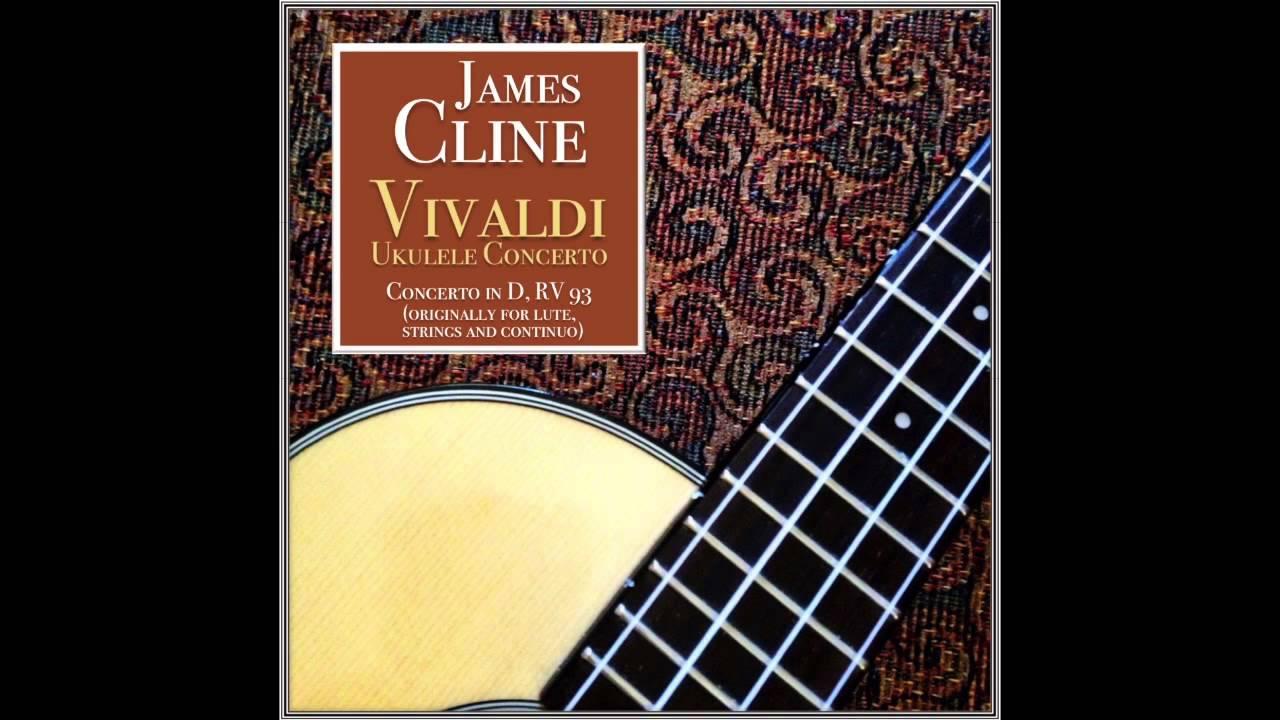 Vivaldi: Concerto in D, RV93-Arranged for Ukulele