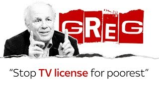 Greg Dyke on TV licences for the poorest