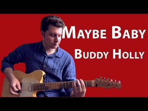 Lesson: Buddy Holly - Maybe Baby  Guitar