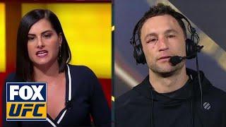Frankie Edgar talks to the UFC on FOX crew | INTERVIEW | UFC FIGHT NIGHT