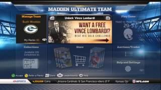 Madden 13 Ultimate Team Rodney Harrison Release!