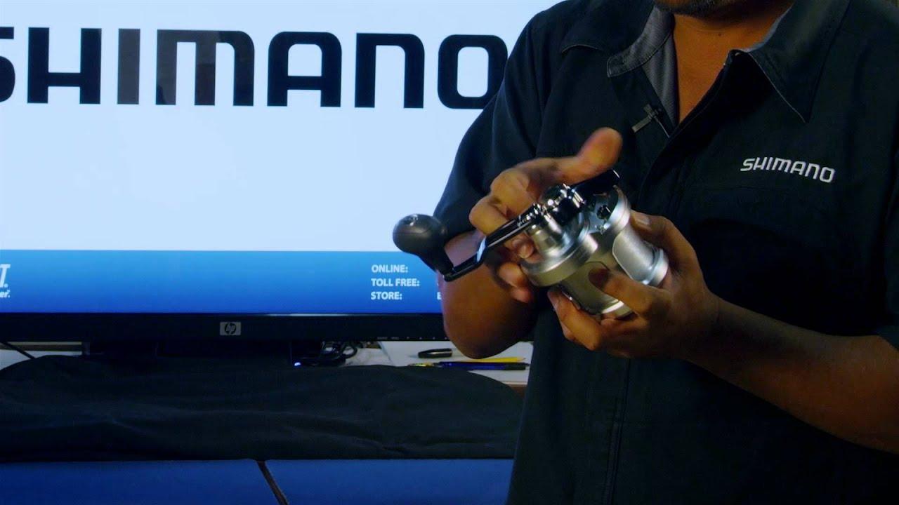 0007569642a Shimano Talica Billfish Lever Drag Reel at TackleDirect - YouTube