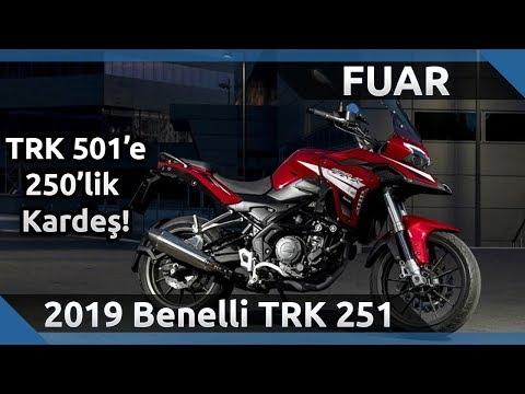 2019 Benelli TRK 251 Ön İnceleme - 2019 Motobike Istanbul Fuarı