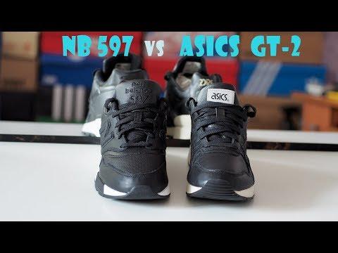 NB 597 vs Asics GT-2