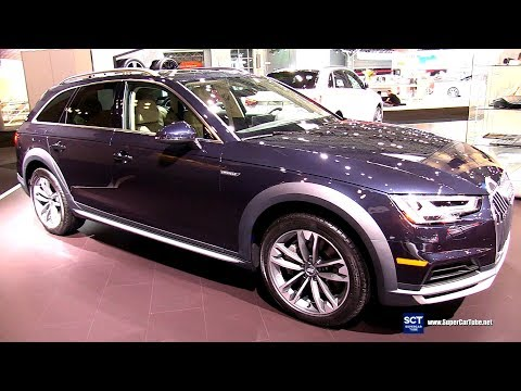 2018 Audi A4 Allroad Quattro - Exterior and Interior Walkaround - 2018 New York Auto Show