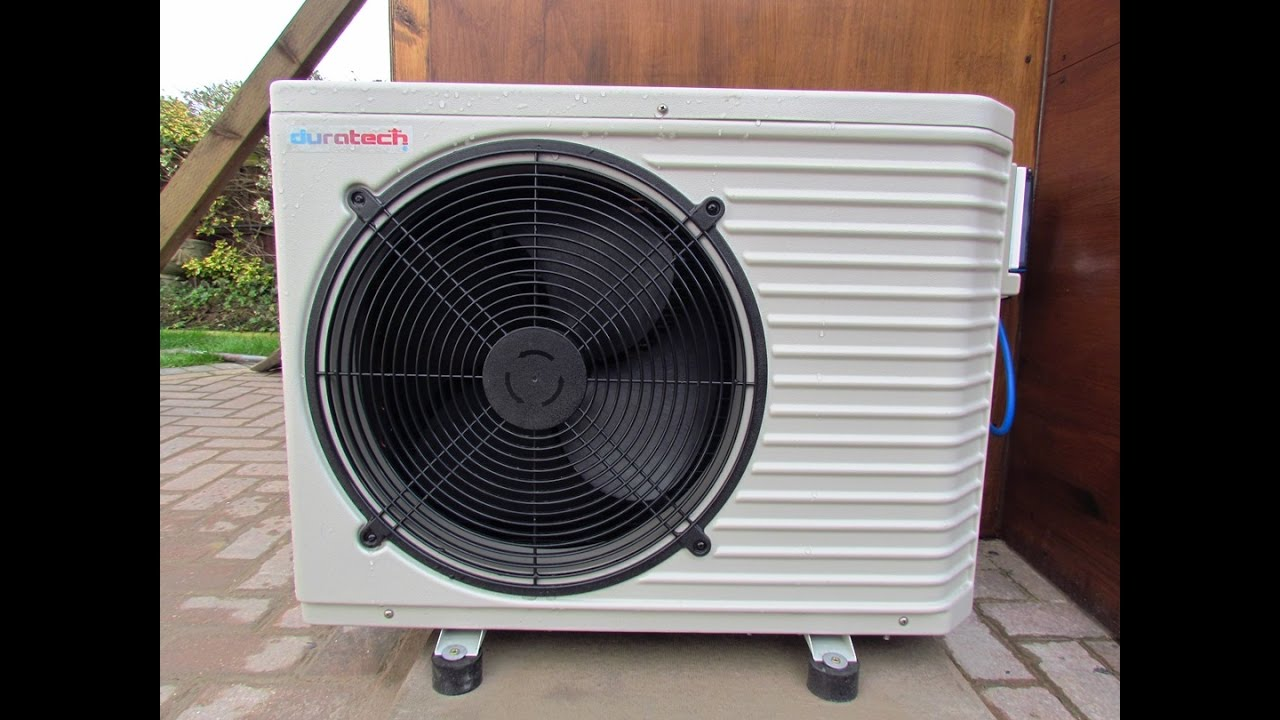 Installing Air Source Heater On Koi Pond Duratech 7