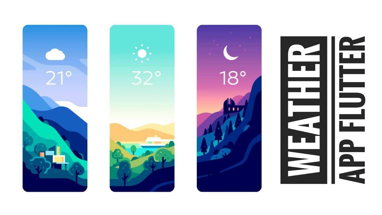 How to Create Weather App in Flutter   Flutter Weather App   Flutter