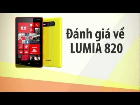 Nokia Lumia 820 - Đánh giá Lumia 820 - CellphoneS