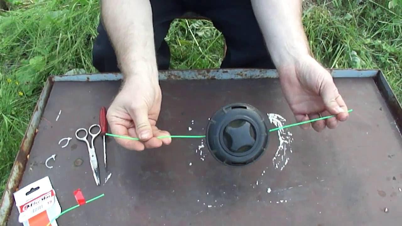 Подготовка бензиновой смеси для триммера Patriot - YouTube