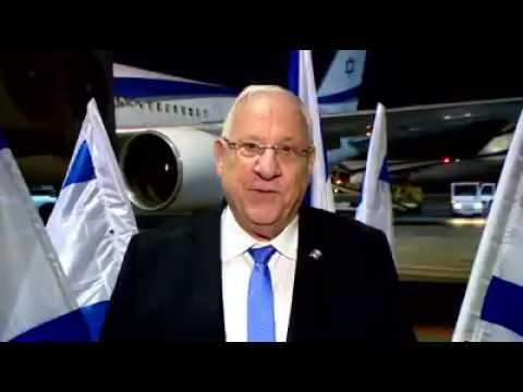 President Rivlin departs for India on state visit
