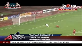 Video Gol Pertandingan China vs Suriah