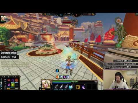 Smite: S4 Duel! | The GM Grind! | Freya vs Rama | #3