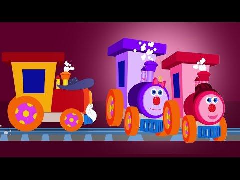 Ben der Zug | Finger-Familie | Kinderreime für Kinder | Finger Family Rhyme | Ben The Train