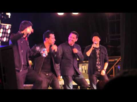 NKOTB CRUISE 2015 - POPSICLE - Concert GROUP B - Late dining