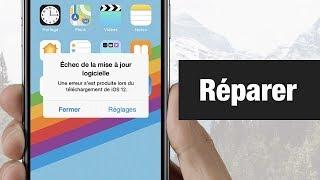 Une erreur est survenue lors de l'installation de iOS 12 ? Voici la solution