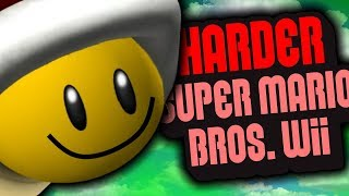 HARDER Super Mario Bros. Wii is making the game EASIER?! | HarderSMBW #14