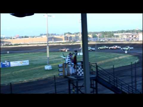 7/14/15 Nobles County Speedway IMCA Hobby Stock Feature