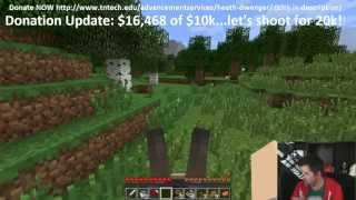"Mindcrack: Charity Livestream Edition! ""B-Team Donkey Hunting (Part 2 of 2)"""