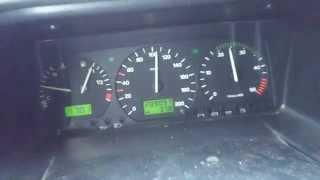 Volkswagen Transporter T4 2.5 TDI 102 KM (75 kW) acceleration 0-100km/h Przyśpieszenie