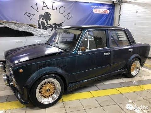 Находка простоял в бетонном гараже ВАЗ 2101, 1982 Автомобиль новый .
