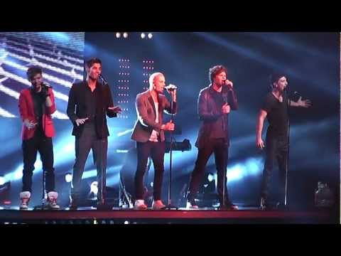 The Wanted - Warzone (live in Sheffield 18.02.12) The Code
