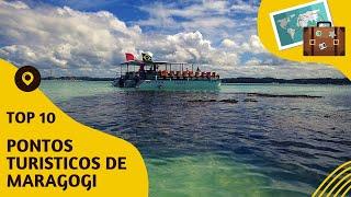 10 pontos turisticos mais visitados de Maragogi