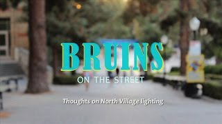 Bruins on the Street: Street lighting in North Village